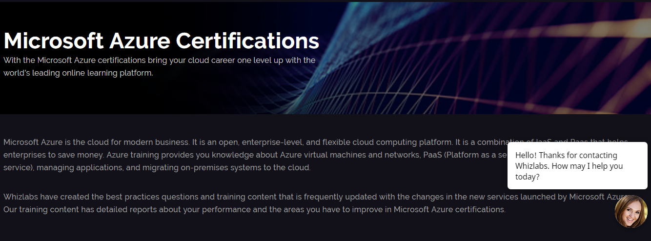 How Whizlabs Online Training Course- Microsoft Azure Certifications