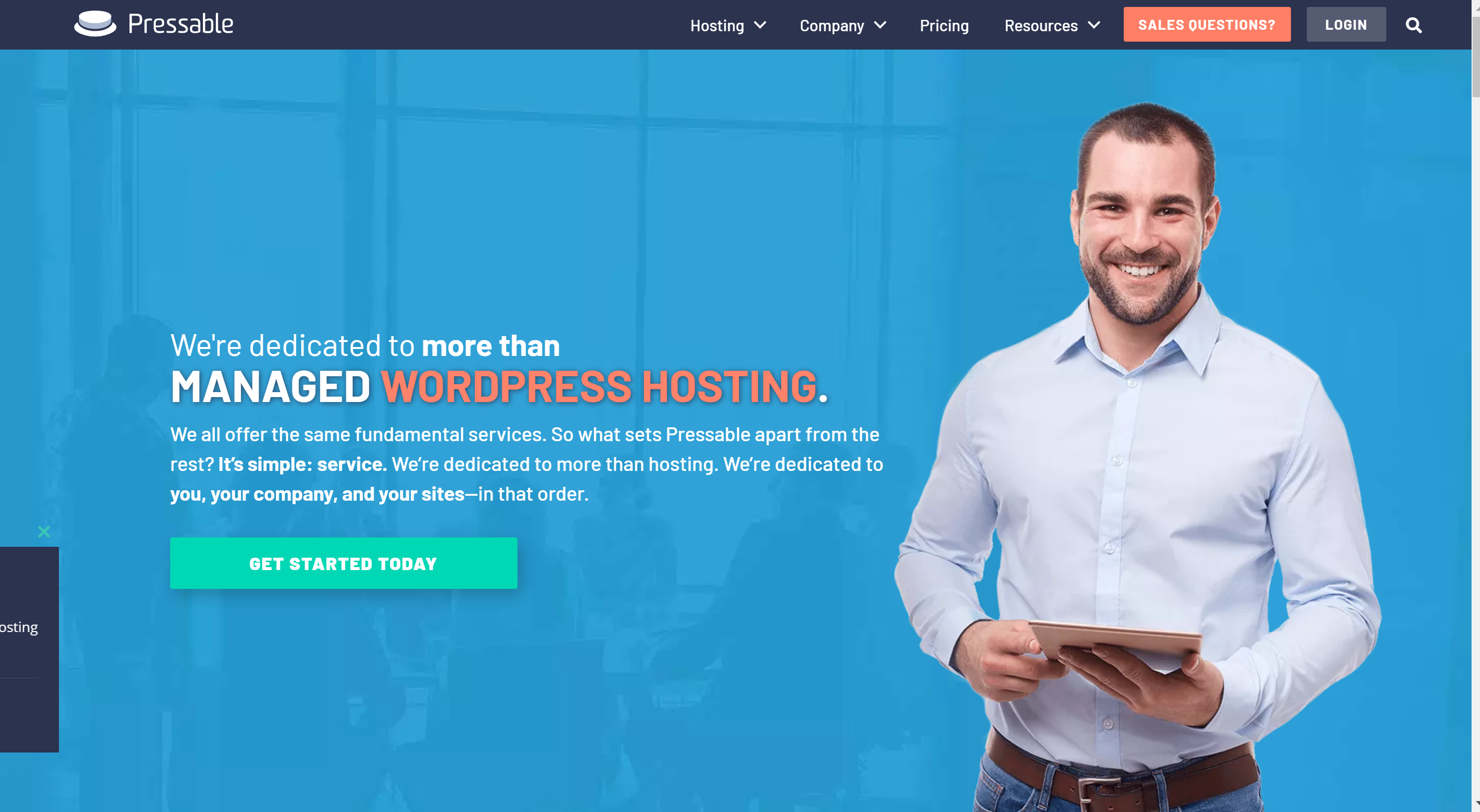 Pressable Review wordpress hosting