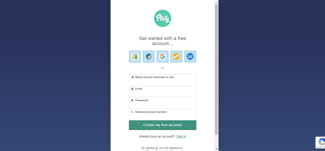 Privy Review - start free trial here