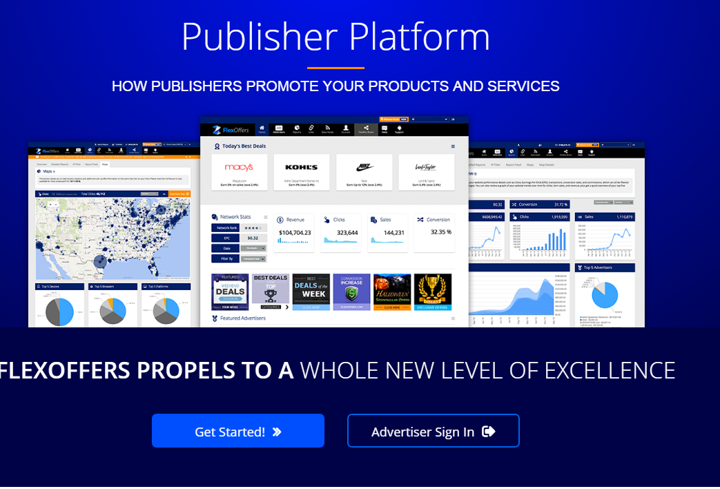 FlexOffers Publisher Platform