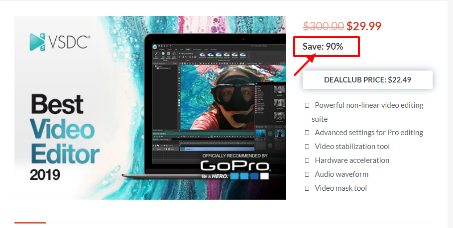 Dealfuel Discount Offers Deals - VSDC Video Editor