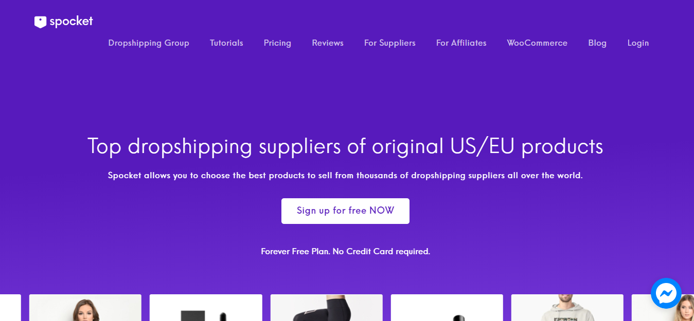 Best Dropshipping Suppliers in Europe- spocket
