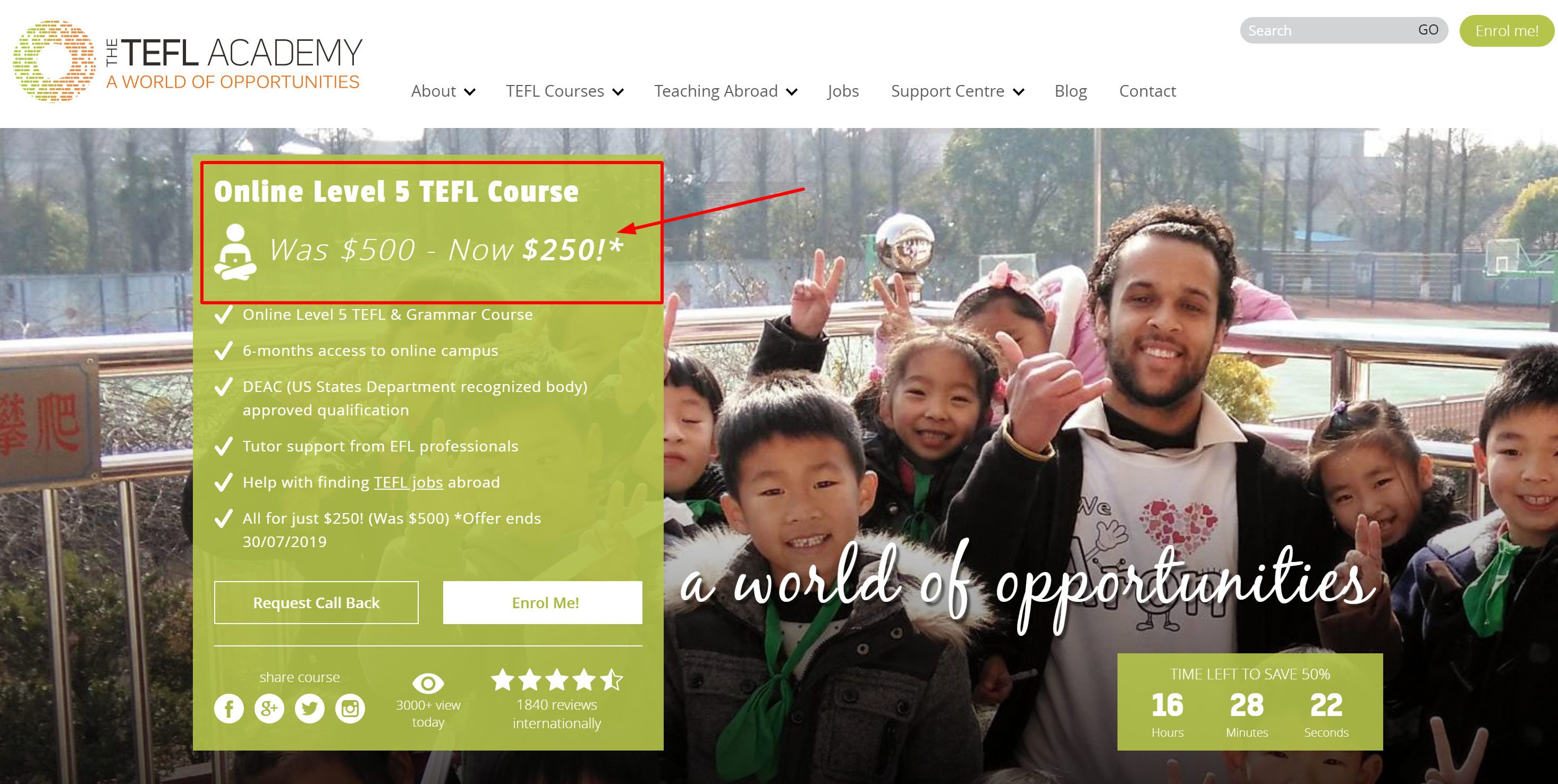 the tefl academy reviews the tefl academy discount coupon codes