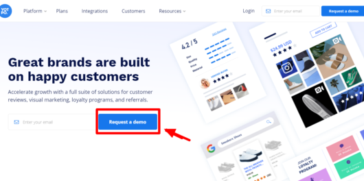 yotpo review - try free demo