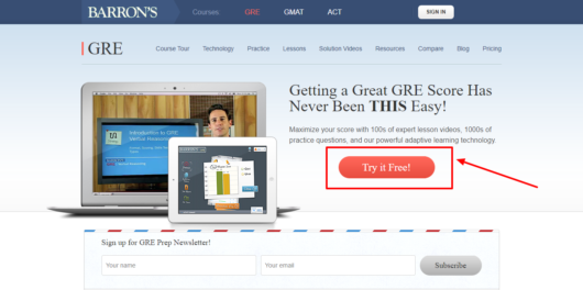 Barrons Test Prep Review - Learn more
