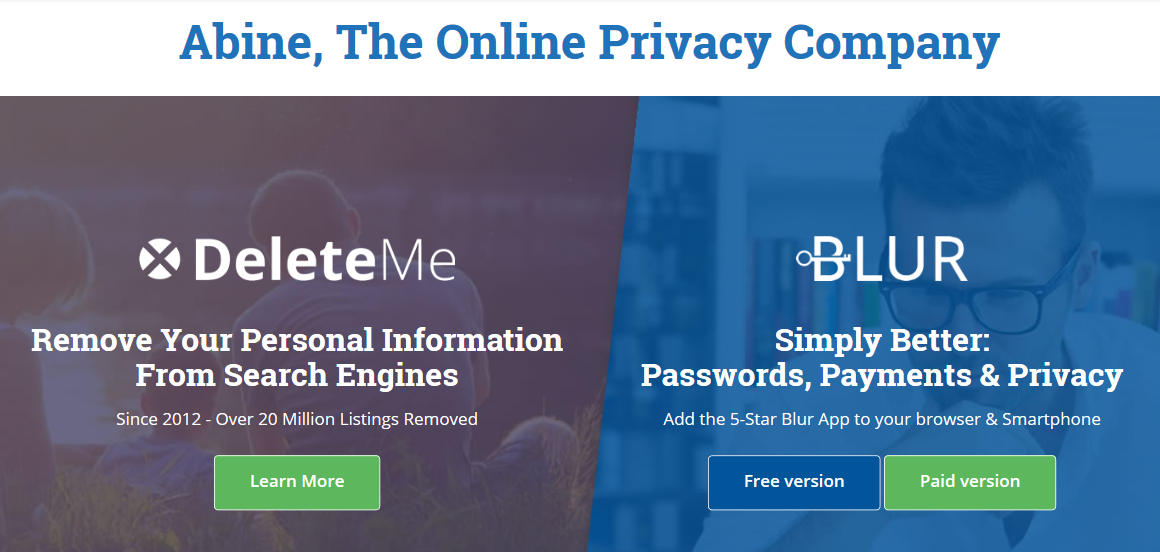 Blur Review- Privacy Manager