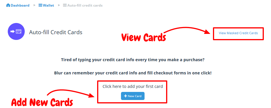 Save Your Cards