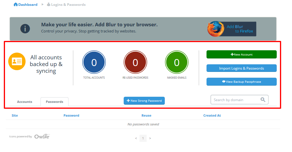 Stronger & Safe Password