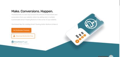 Buttonizer WOrdPress plugin