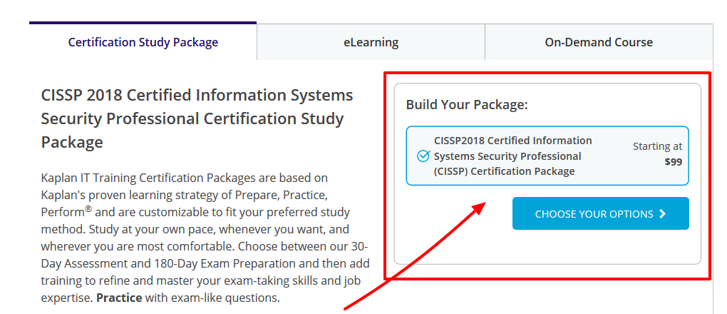 CISSP - Kaplan IT Training Review