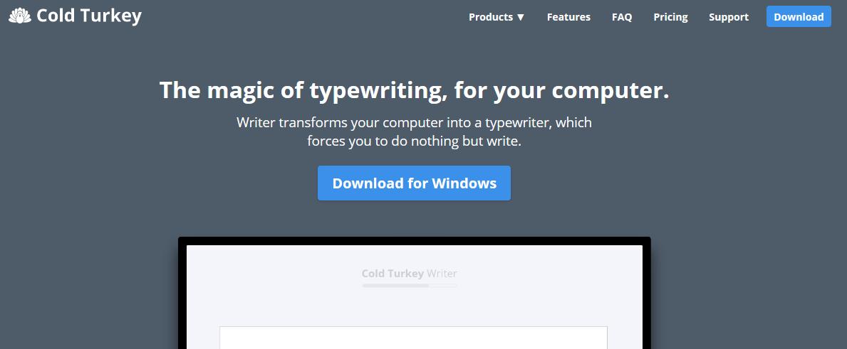 Cold Turkey Review- Turkey Writer