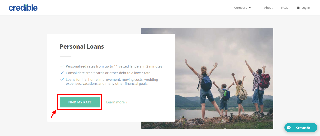 Credible review - personal loans