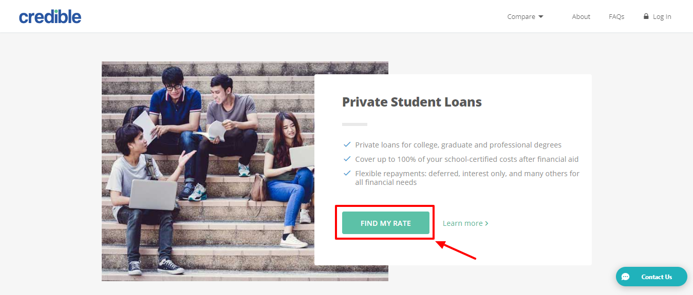Credible review - private student loans