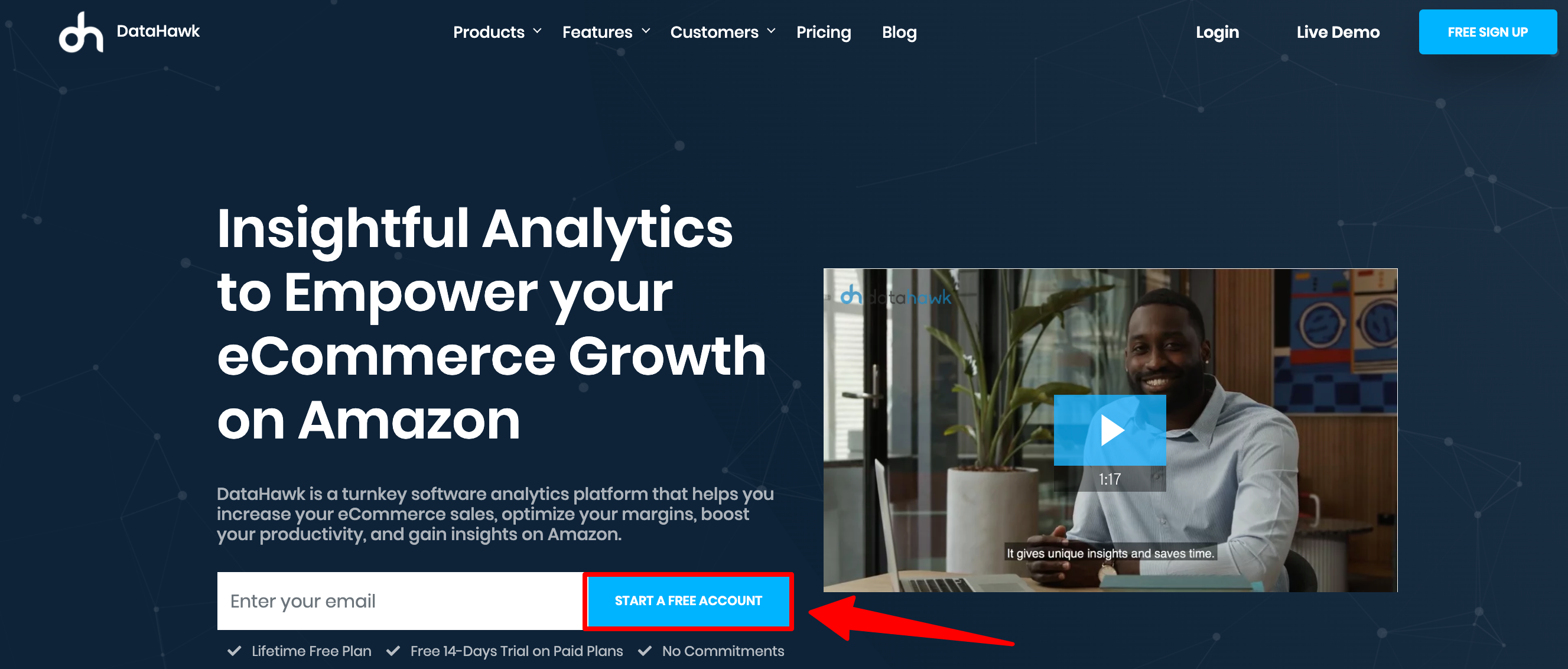 DataHawk - Amazon Sellers Analytics Software