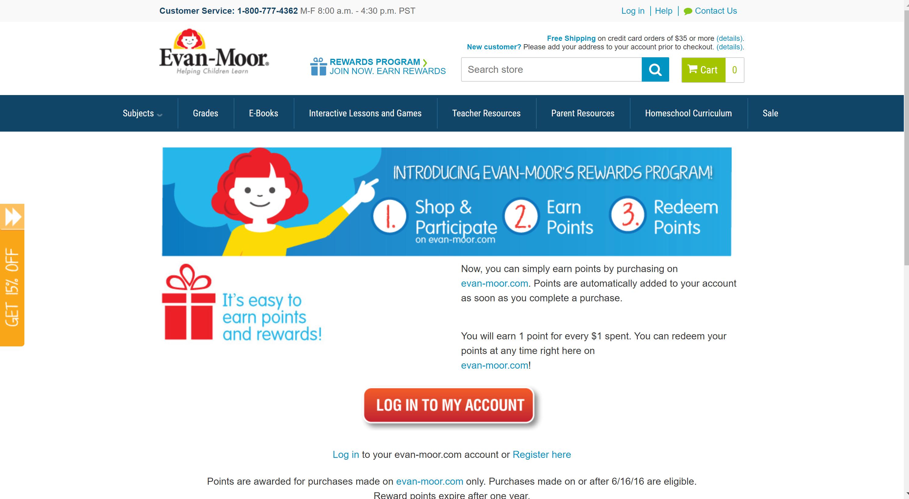 Evan Moor offers