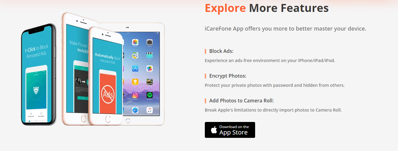 iCareFone Review With Discount Coupon - Features
