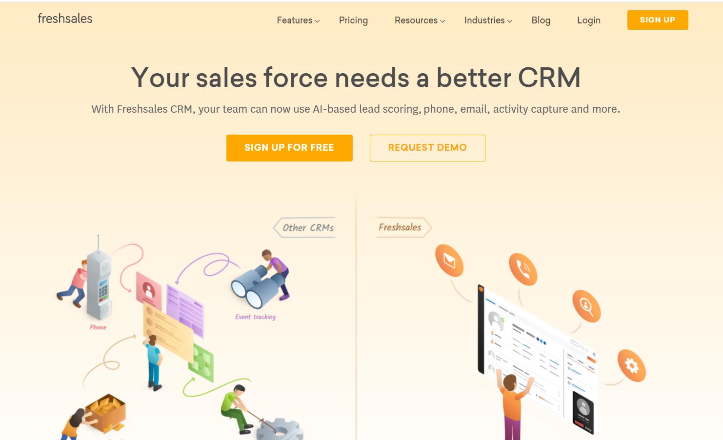 Freshsales - Sales CRM by Freshworks