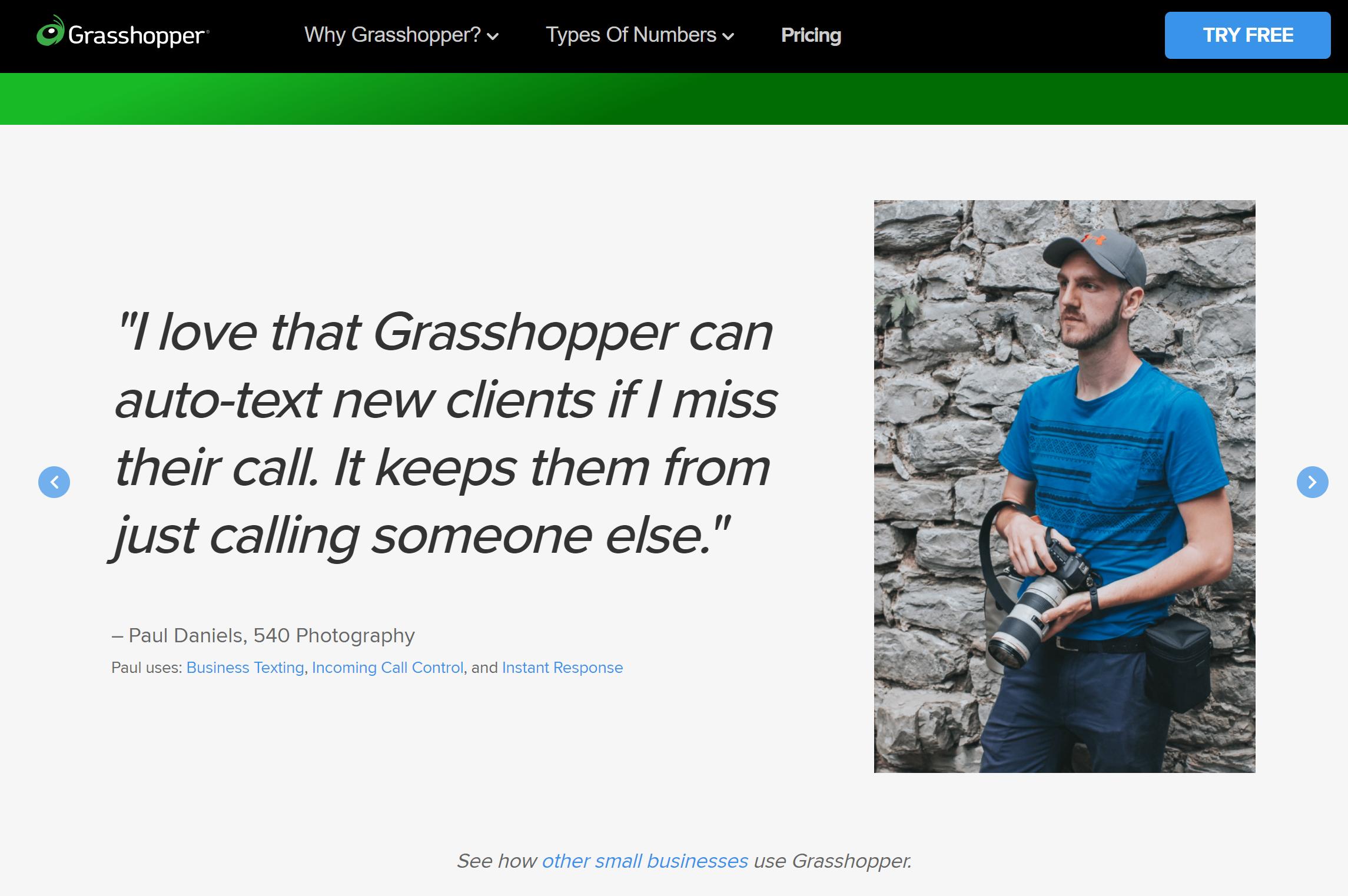 Grashopper phone system review