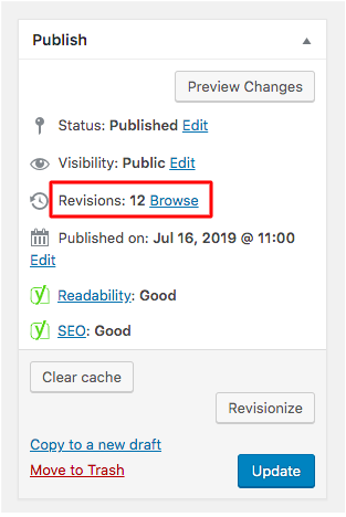 How You Can Speed Up A Slow Website- Limit The Revisons