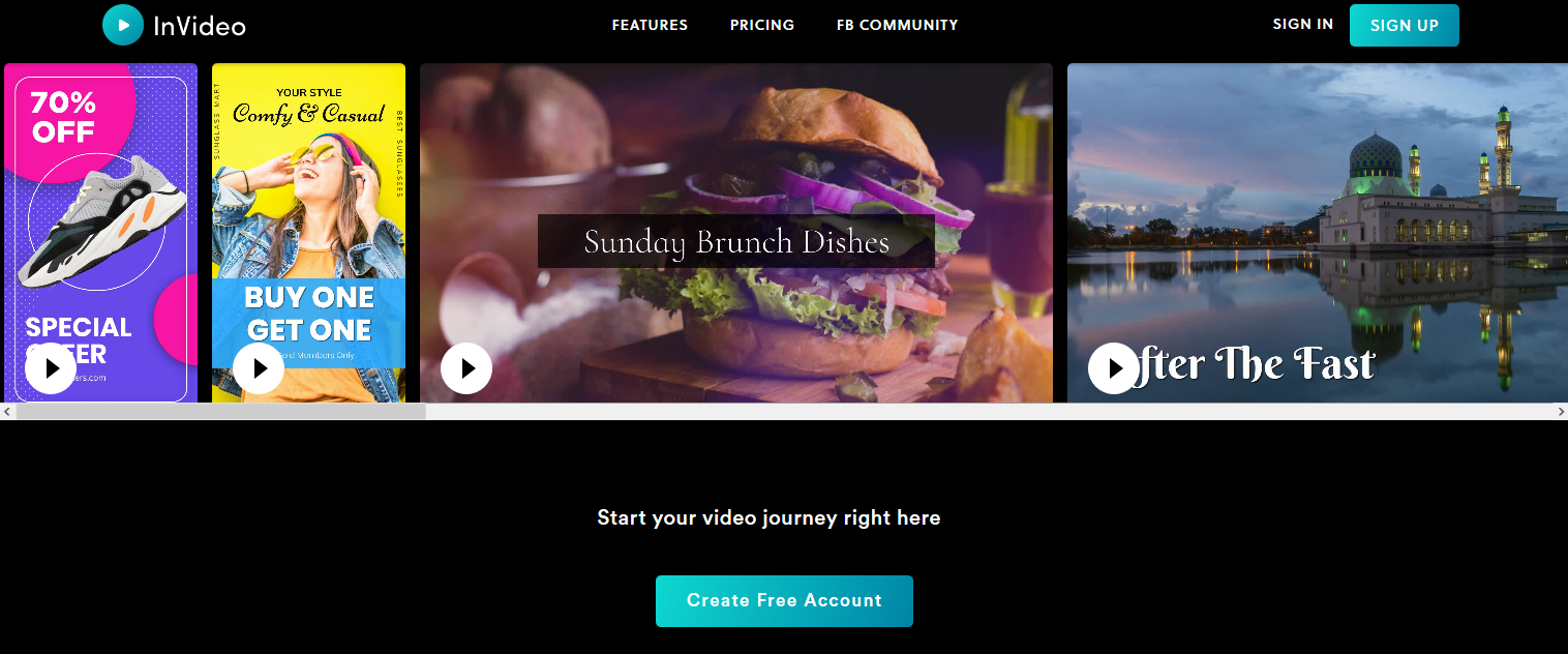 InVideo Review- Online Video Creator