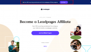 LeadPages affiliate