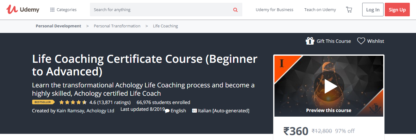 7 Best Life Coaching Courses & Certification- Life Coaching Certificate