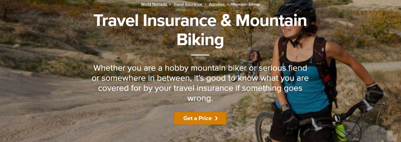 World Nomads Review - Mountain Biking