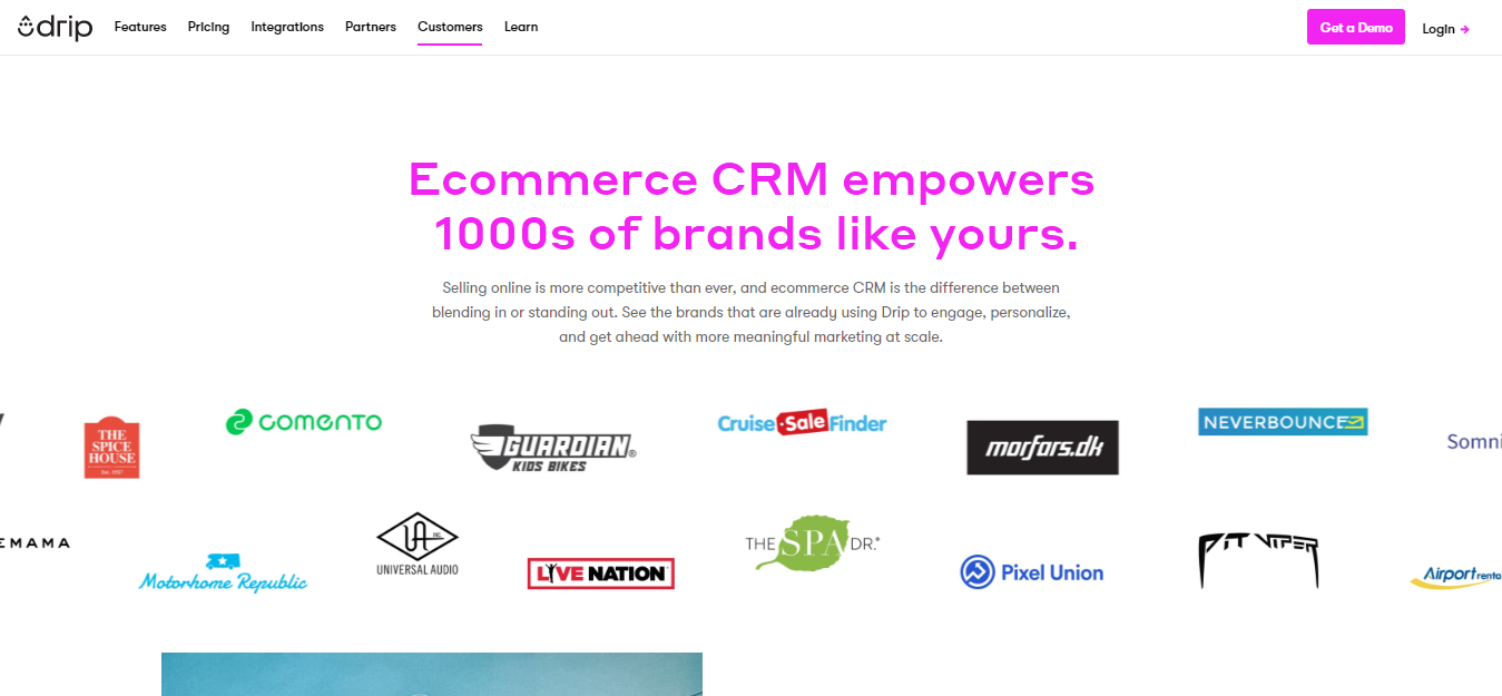 Omnisend vs Drip Ecommerce- crm