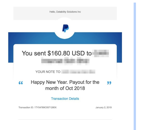 iZooto Review - Payment Proof
