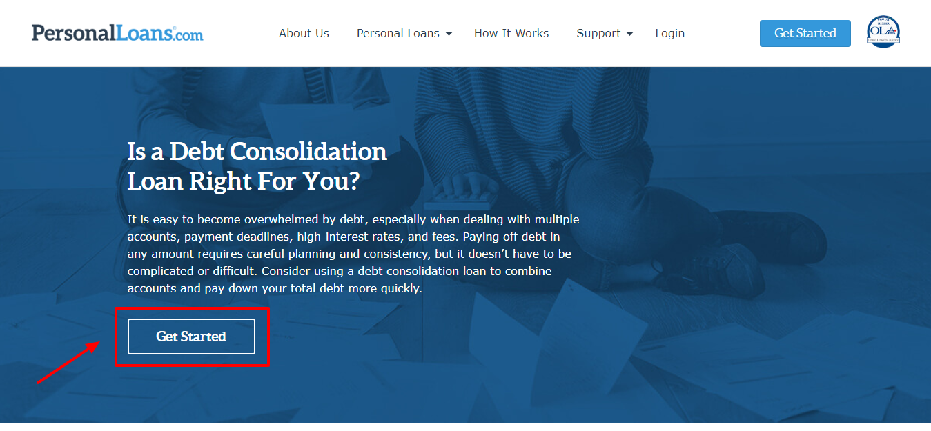 PersonalLoans Review - Debt Consolidation