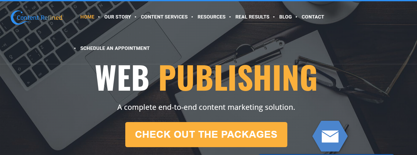 Content Refined Review- Web Publishing