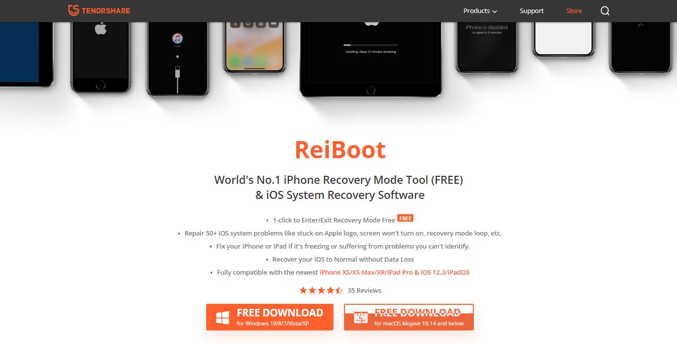 ReiBoot Review- ReiBoot