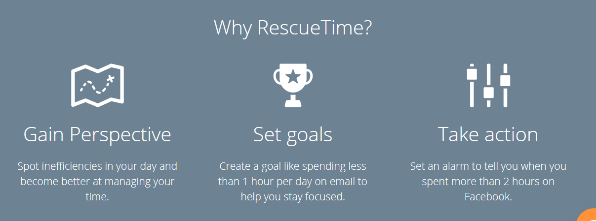 RescueTime Review- Customization Of Goals