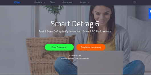 Smart Defrag disk free software