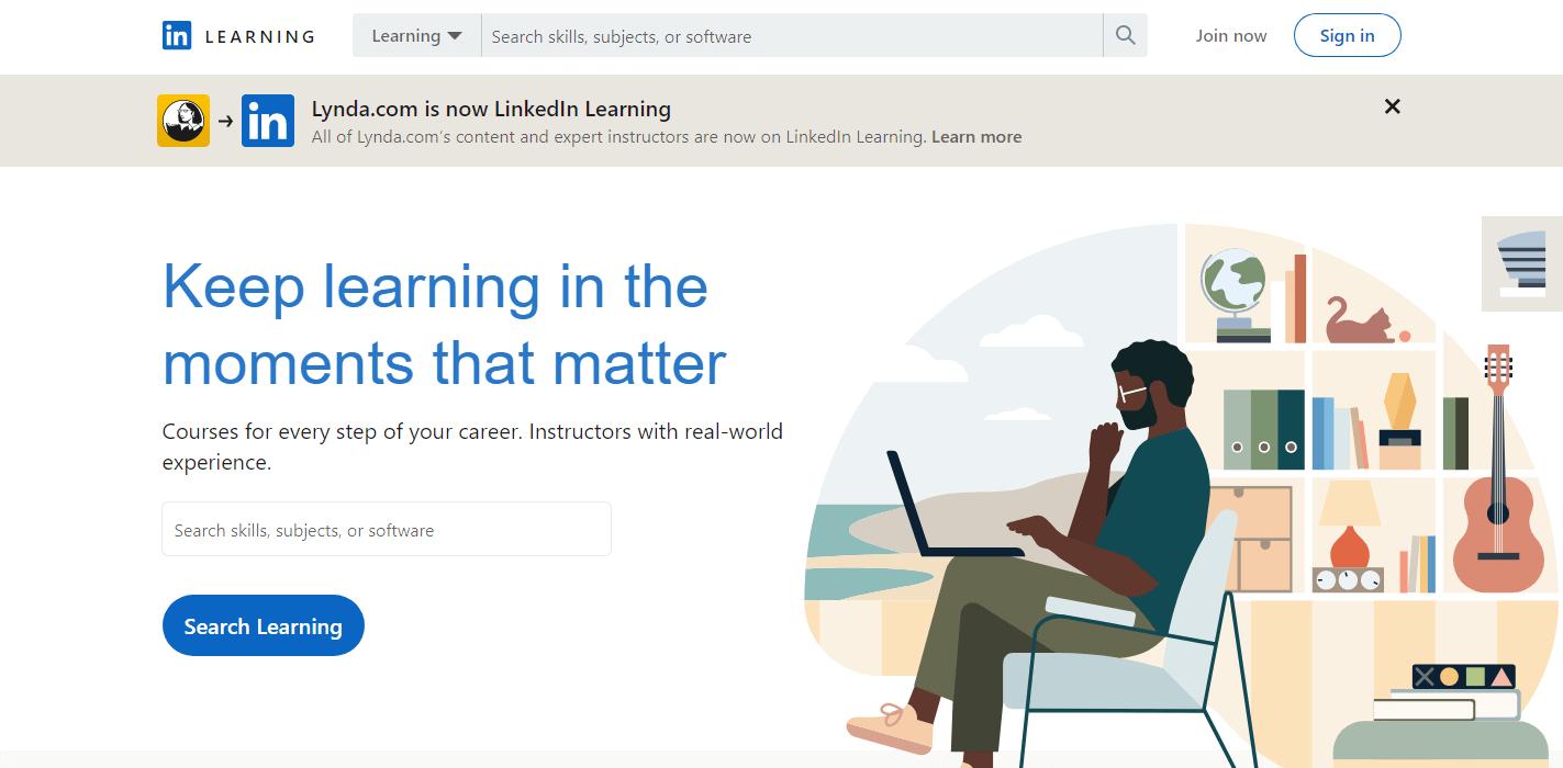 Springboard Alternative - LinkedIn-Learning