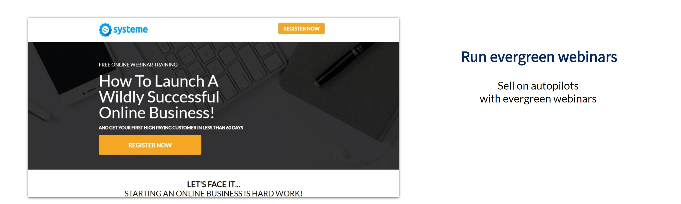 Systeme Reviews Run Webinars Online