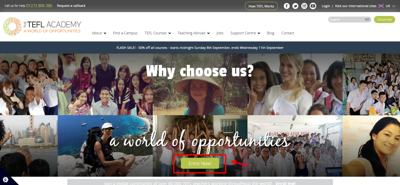 TEFL Academy Review - Why choose us