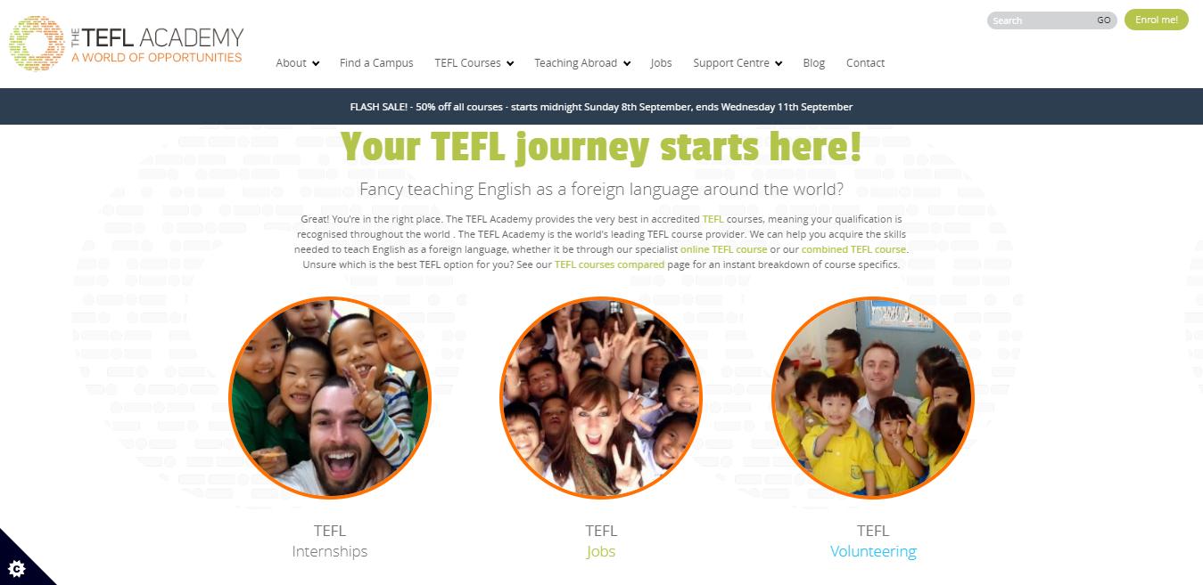 TEFL Academy Review - journey