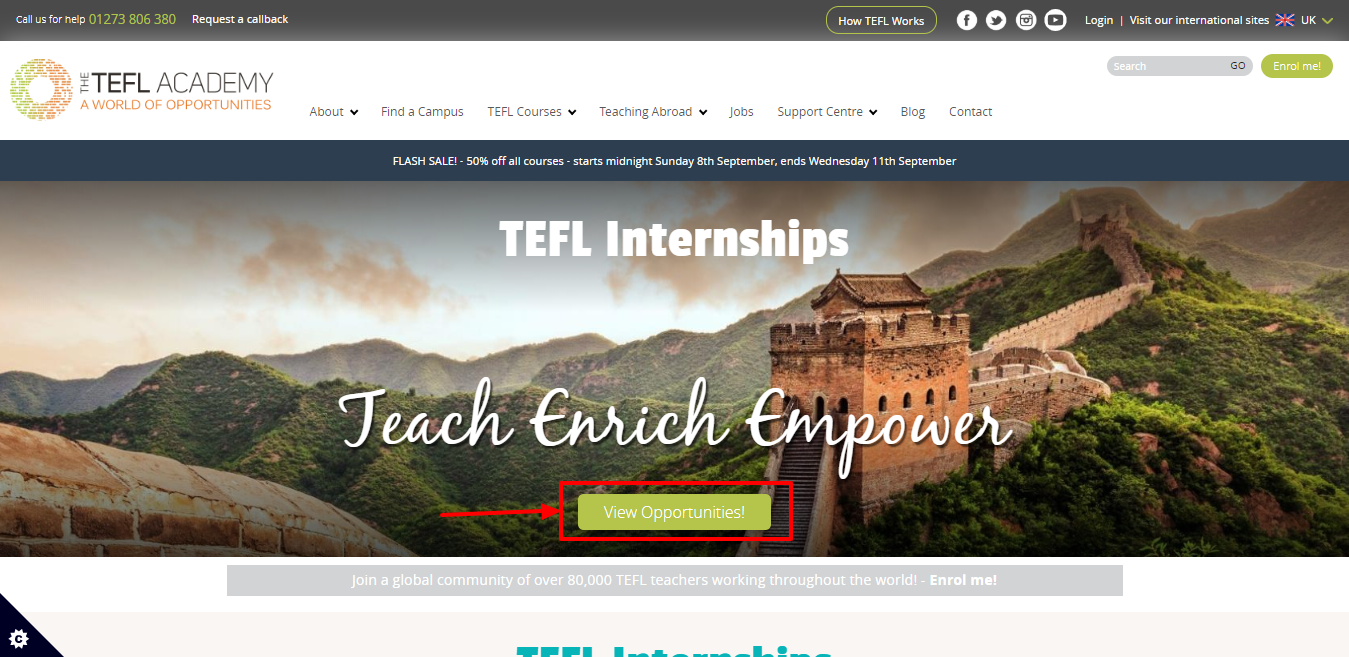 TEFL Academy Review - try opportunites