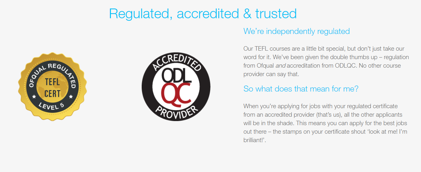 TELF REVIEW - Accreditation