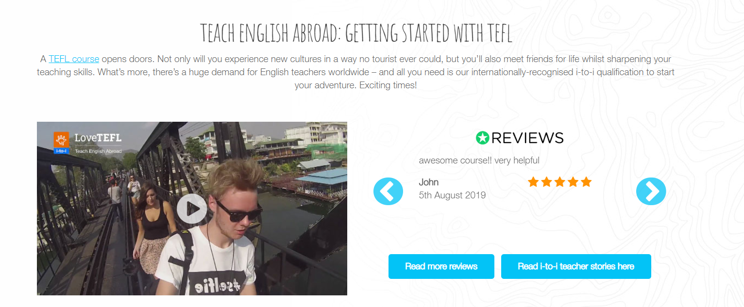TELF Review - Teaching Abroad