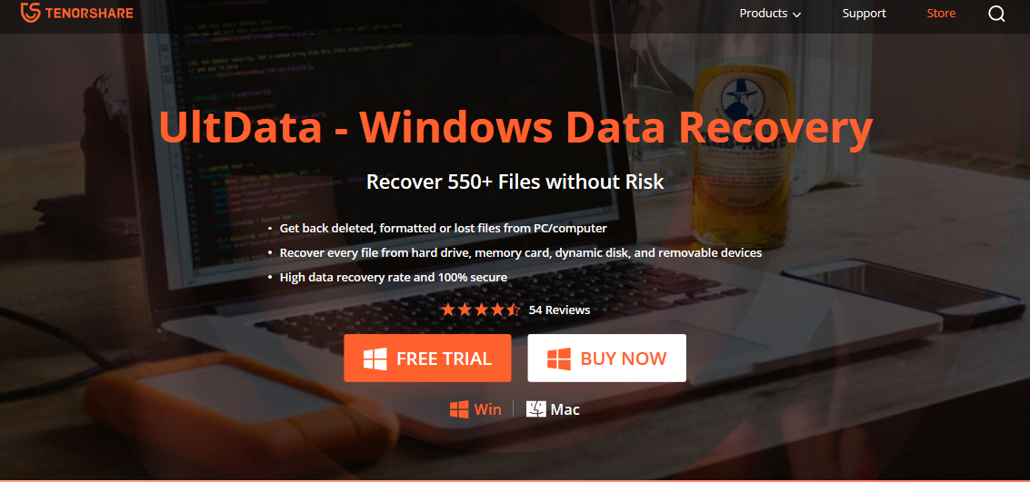 Tenorhare Ultdata- A Reliable Recovery Software