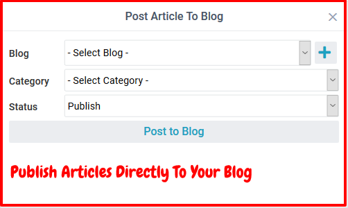 The Best Spinner Review- Publish Articles Directly