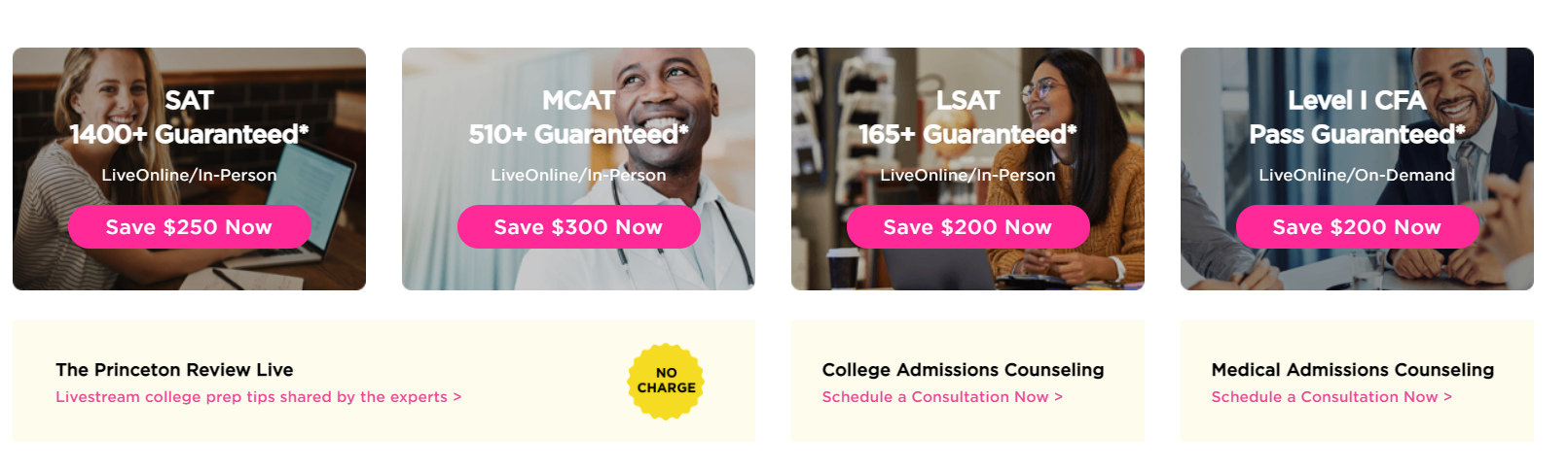 The-Princeton-Review - Pricing