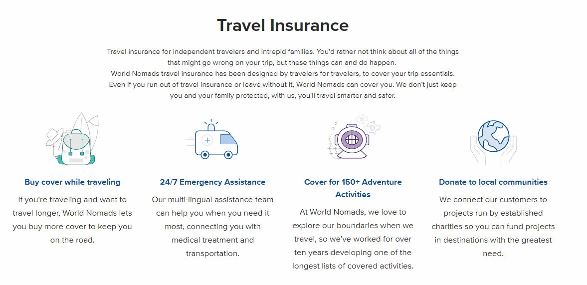 Digital Nomad Review- travel Insurance