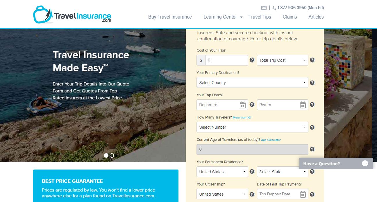 TravelInsurance.com Review- TravelInsurance.com