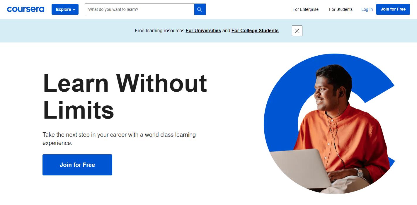 Udacity Alternative- Coursera
