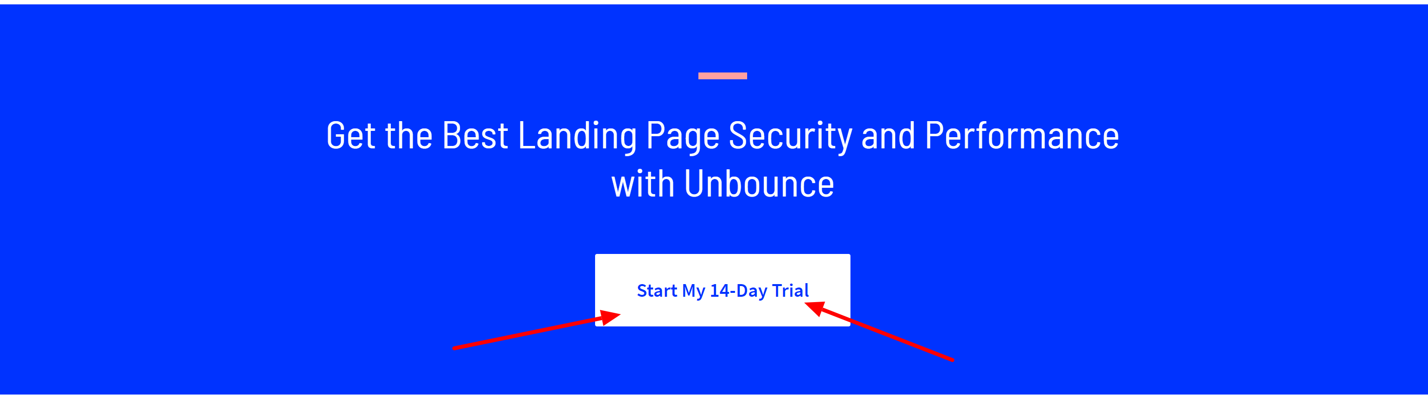 Unbounce free trial