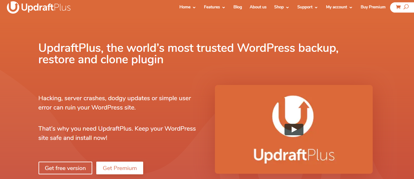 BlogVault or UpdraftPlus Compression Review- UpdraftPlus