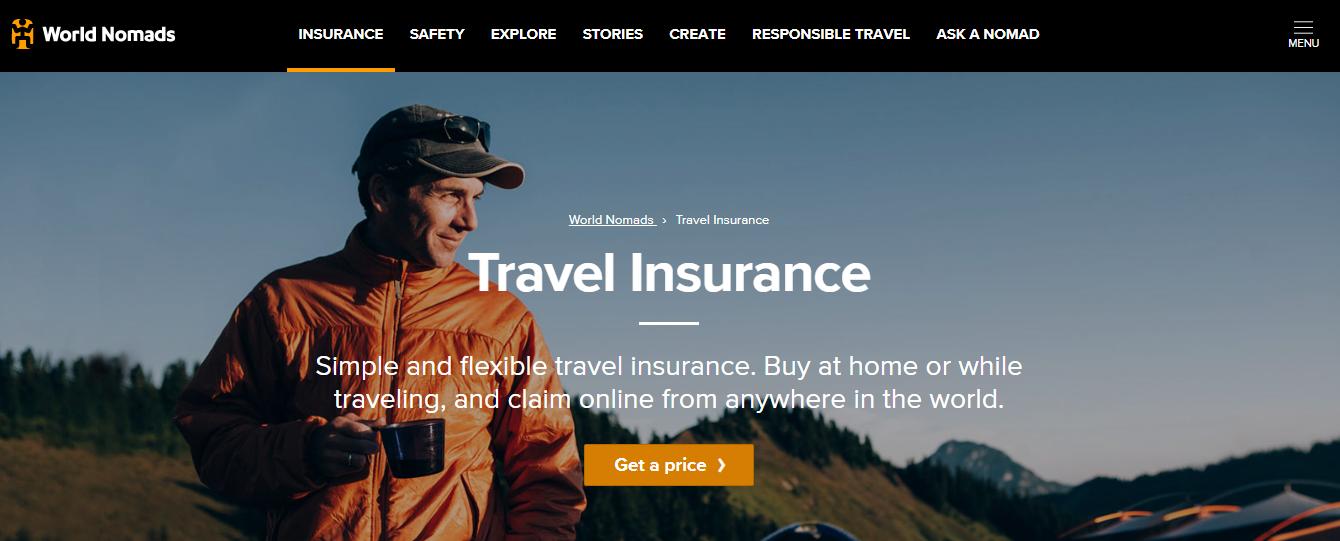 Digital Nomad Review- World Nomads